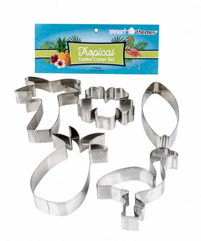 Tropical Cookie Cutter Set 5 Pieces | Cookie Cutter Set Australia