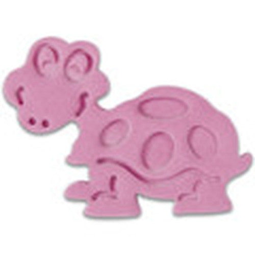 Turtle Plastic Embossed 6cm Cookie Cutter-Cookie Cutter Shop Australia
