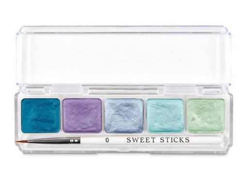 Sweet Sticks Edible Art Water Activated Paint Under the Sea Palette | Cookie Cutter Shop Australia