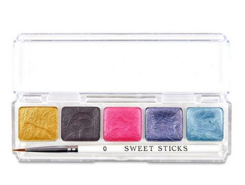 Sweet Sticks - Edible Art Water Activated Paint- Unicorn Palette