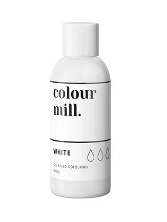 Colour Mill White Oil Based Colouring 100ml