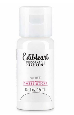 Sweet Sticks Edible Paint White