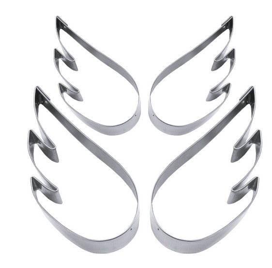 Angel Wings Cookie Cutter Set 4 Pieces | Cookie Cutter Shop Australia