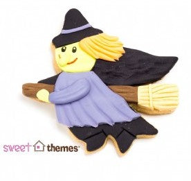 Witch on Broom Cookie Cutter 10cm | Cookie Cutter Shop Australia