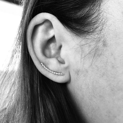 Beaded Ear Climbers - Renegade Jewelry