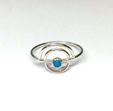 The Horizon Turquoise Ring - Renegade Jewelry