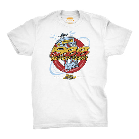 T-Shirt 1988 World Tour - Wyld StallynsBill & Ted's Excellent Adventure (1989) - Uber Torso