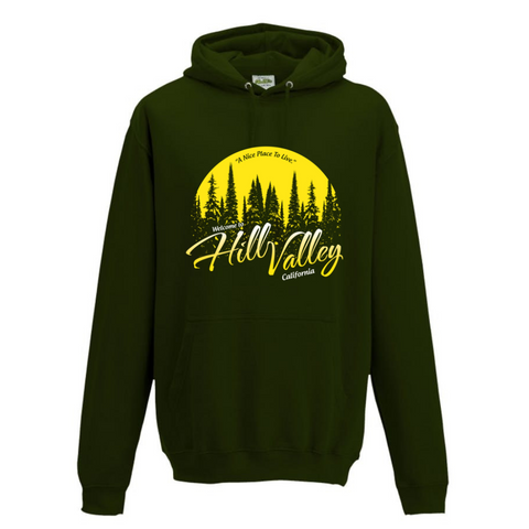 Welcome To Hill Valley Hoodie
