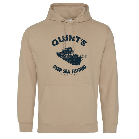 Quint's Deep Sea Fishing Hoodie