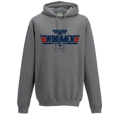 Top Gun Wingmen Volleyball Team Hoodie