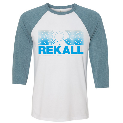 Rekall: For The Memory of a Lifetime 3/4 Sleeve Baseball Tee