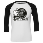 Bug Stomper - Guts or Glory 3/4 Sleeve Baseball Tee