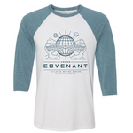 Long Sleeve T-Shirt USCSS Covenant 3/4 Sleeve Baseball TeeAlien: Covenant (2017) - Uber Torso