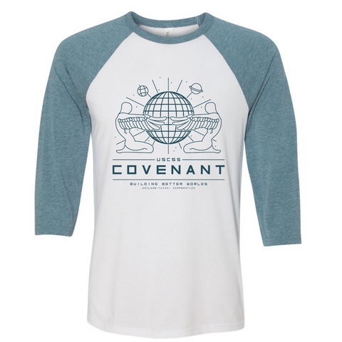 USCSS Covenant 3/4 Sleeve Baseball Tee