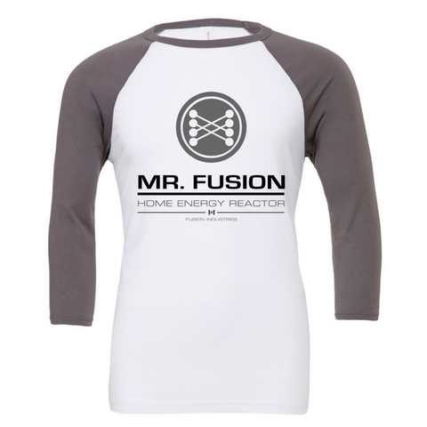 Mr Fusion - Home Energy Reactor 3/4 Sleeve Baseball Tee