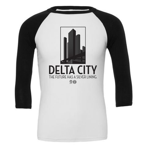 Delta City 3/4 Sleeve Baseball Tee