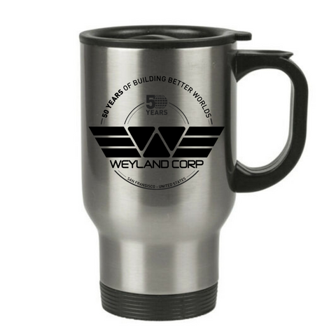 Weyland Corp 50th Anniversary Travel Mug