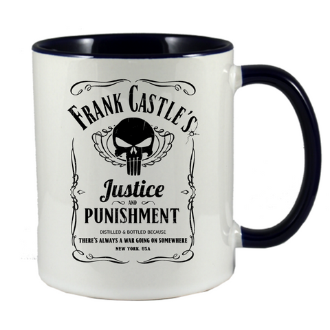 Frank Castle's Justice & Punishment Mug