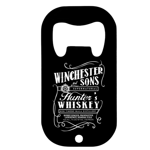 Drinkware Winchester & Sons Bottle OpenerSupernatural TV series - Uber Torso