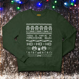 The Die Hard Christmas Jumper - Festive Green