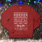 The Die Hard Christmas Jumper - Christmas Red