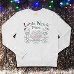 Little Nero's Pizza - Home Alone Arctic White Christmas Jumper