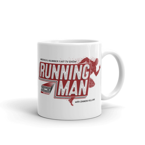 The Running Man Mug
