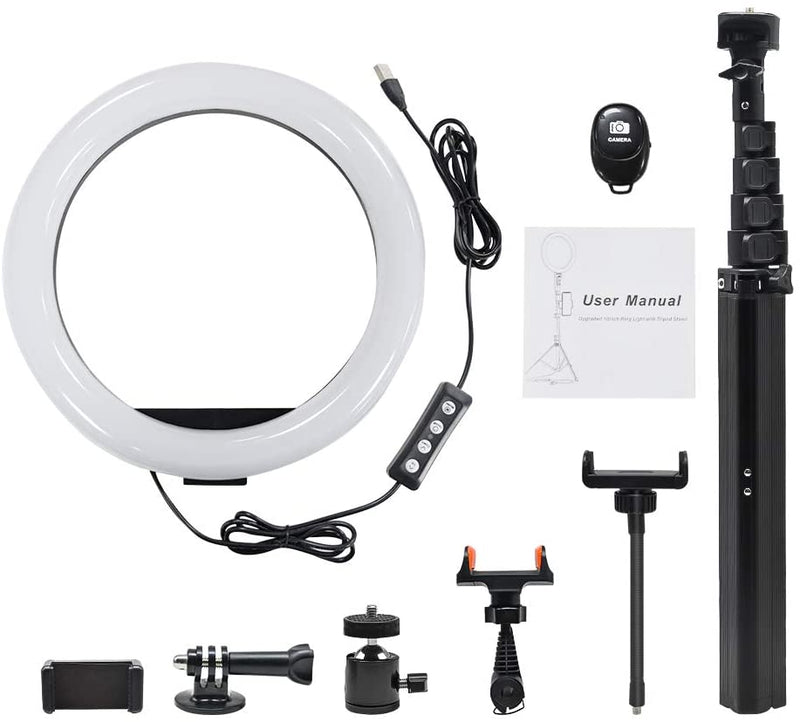Dimmable LED Beauty Camera Ringlight