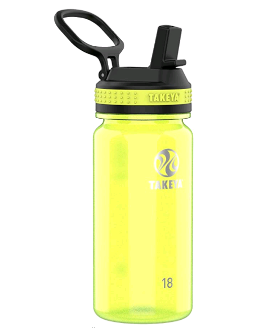 Tritan Sports Water Bottle with Spout Lid, 18 oz, Ocean