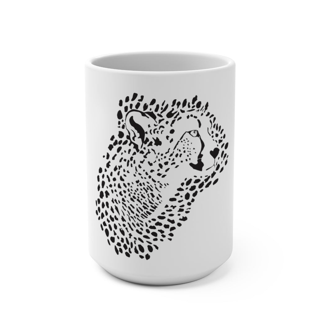 Cheetah Mug 15 oz