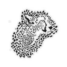 Load image into Gallery viewer, Cheetah Kiss-Cut Stickers