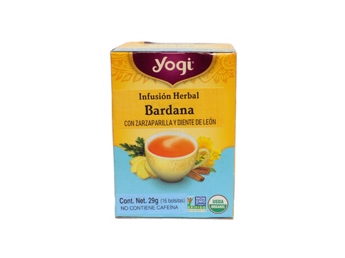 Infusión herbal DeTox Yogi