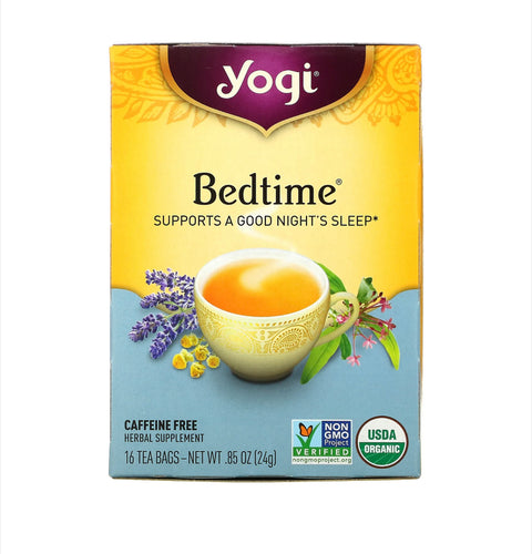 Té yogui Bed time