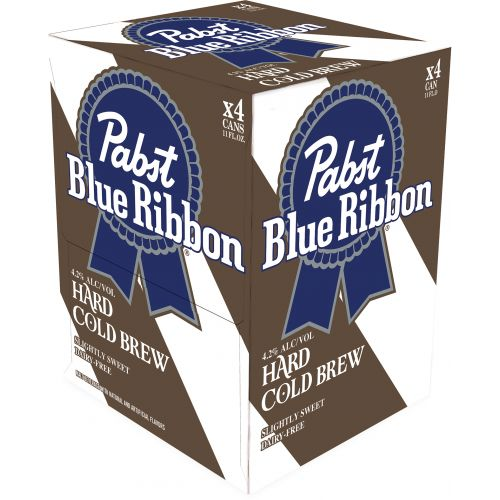 Pabst - Hard Cold Brew 4PK CANS