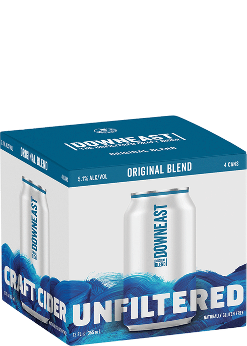 Downeast - ORG Blend 4PK CANS - uptownbeverage