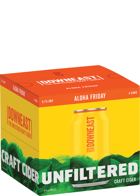 Downeast - Aloha Friday 4PK CANS - uptownbeverage