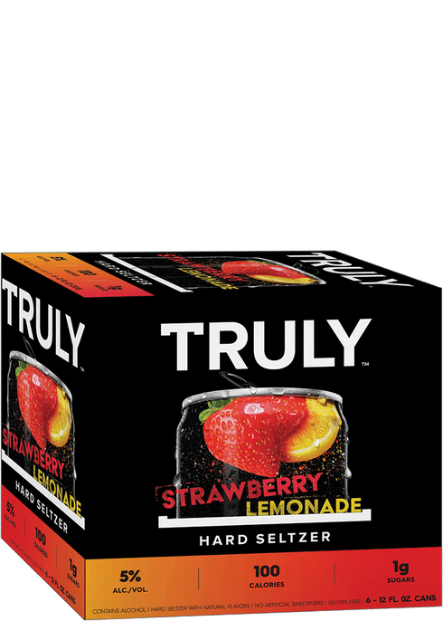 Truly Seltzer - Strawberry Lemonade 6PK CANS