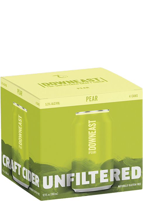 Downeast - Pear 4PK CANS