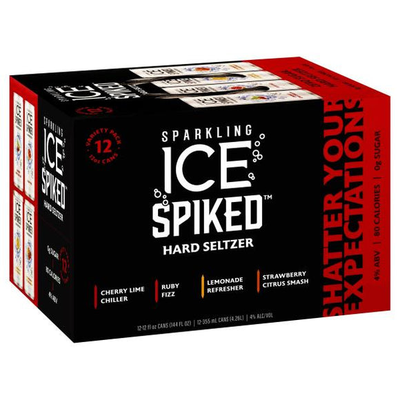 Sparkling Ice - Spiked Hard Seltzer 12PK CANS