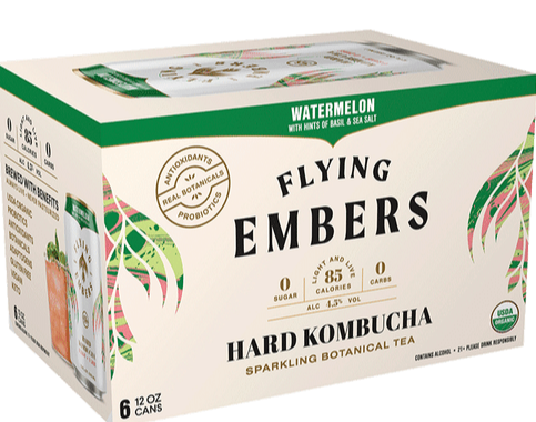 Flying Embers - Watermelon Basil 6PK CANS