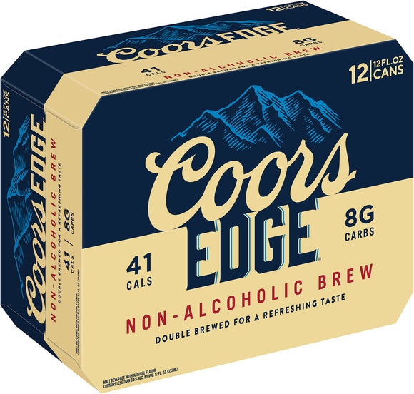 Coors Edge - 12PK CANS - uptownbeverage