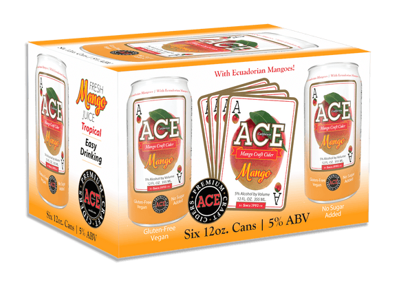 Ace Cider - Mango 6PK CANS