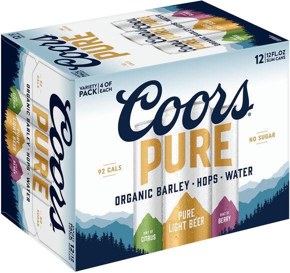 Coors - Pure 12PK CANS