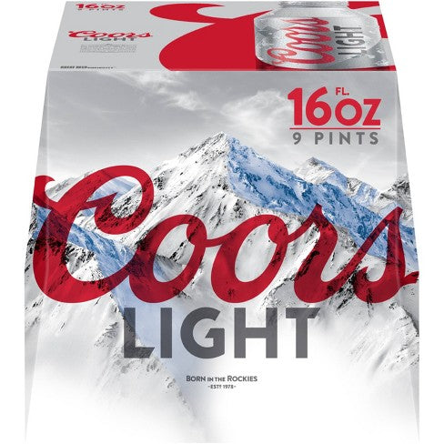 Coors Light - 9PK Aluminum - uptownbeverage