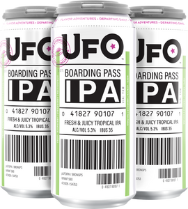 UFO - Boarding Pass 4PK CANS
