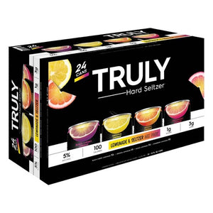 Truly Seltzer - Lemonade and Seltzer 24PK CANS - uptownbeverage