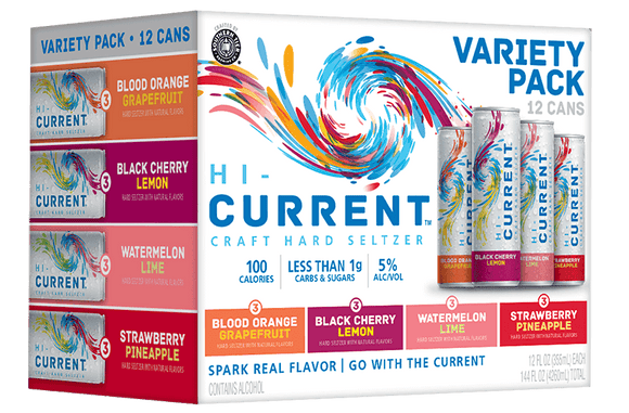 Southern Tier - Hi-Current Craft Hard Seltzer 12PK CANS - uptownbeverage