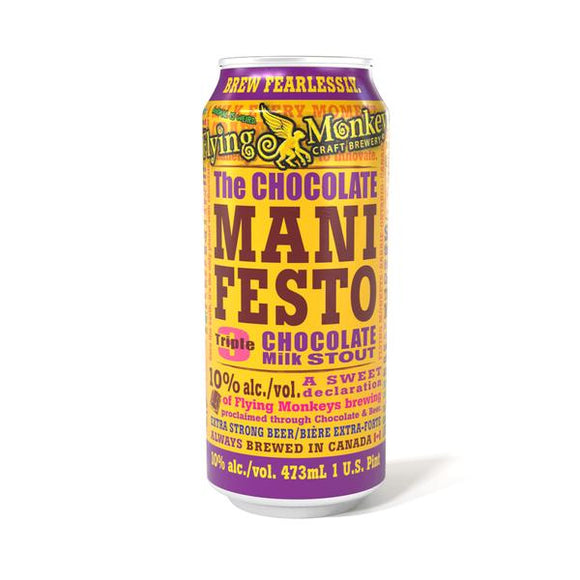 Flying Monkey - Chocolate Manifesto 4PK CANS
