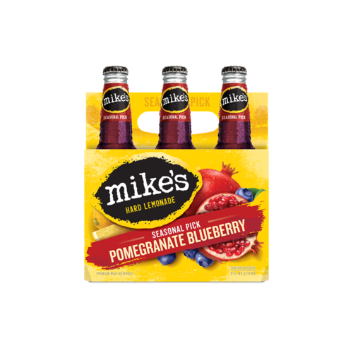 Mikes - Pomegranate Blueberry 6PK BTL