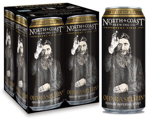 North Coast Brewing - Old Rasputin 4PK CANS